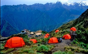 Trekking Perù - Camping