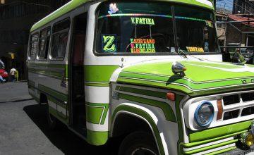 Spostarsi in bus in Perù
